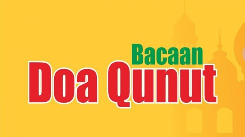 Pengertian Doa Qunut